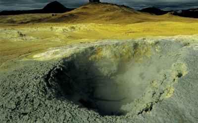 вулкан Krafla