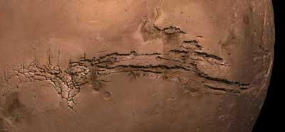 Большой марсианский каньон.
