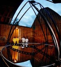 Жидкое зеркало Большого Зенитного Телескопа (LZT).