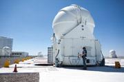 Вспомогательный телескоп. auxiliary telescope.