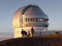 "Башня телескопа ""Джемини север"""