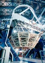 Один из четырёх главных телескопов VLT.