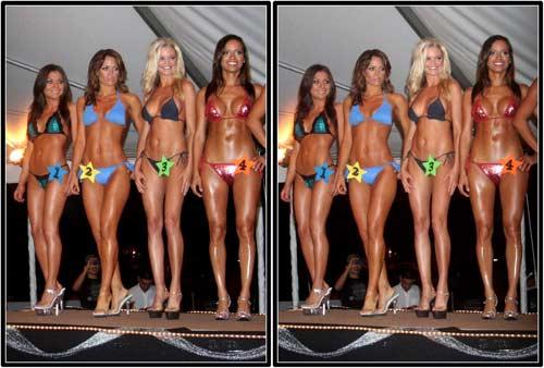 """Конкурс """"Мисс бикини"""" США. Девушки."""
