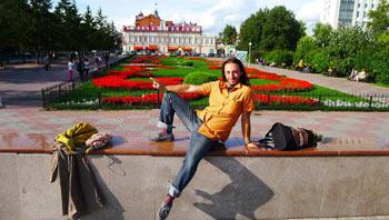 Иностранец в России. Фото. Клементе Гонсалес
