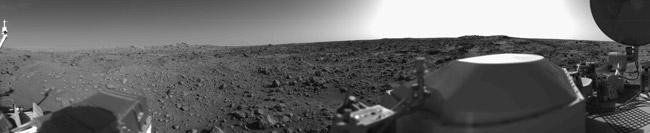 Панорама Марса. Viking-1