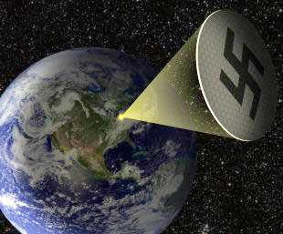Космическое суперзеркало Гитлера, орбитальная станция нацистов