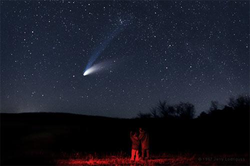 Комета Хейла-Боппа, фото