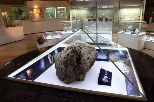 Обломок Чебаркульского (Челябинского) метеорита
