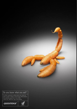 Кампания Greenpeace против ГМО