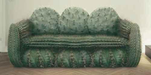 Диван-кактус. Реклама телеканала.